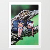 safari Art Prints featuring Safari by John Turck