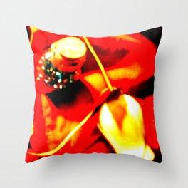 Plastic Flowers 2 Throw Pillow