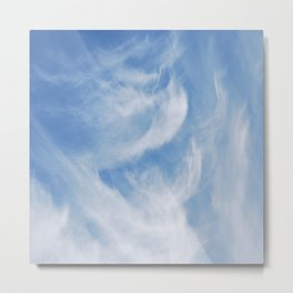 Clouds and sky Metal Print