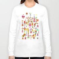 cartoons Long Sleeve T-shirts featuring Harmony Chime by C86 | Matt Lyon