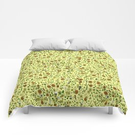 For the Love of Tea Comforters