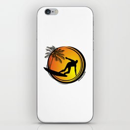 South Shore Surfing iPhone Skin