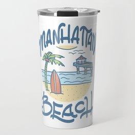 Manhattan Beach Travel Mug