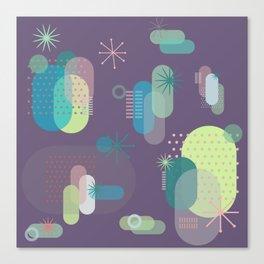 Intergalactic Cactus Canvas Print
