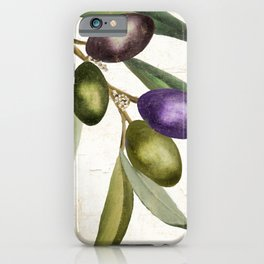 Olive Branch I iPhone Case