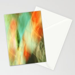 Abstract Art II Blue/Black/Green/Red Stationery Cards