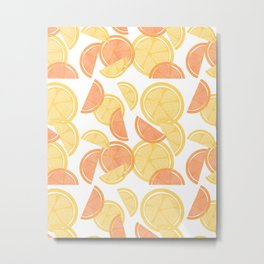 14 Citrus Showers Metal Print
