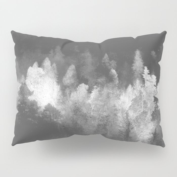Chromatic Forest Nature Photography Pillow Sham