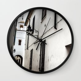 Cordoba Street, Spain Wall Clock