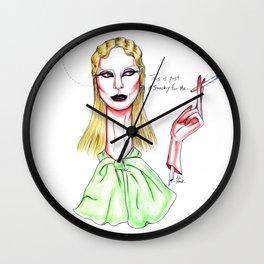 LadyGaga for Marc Jacobs NYFW Wall Clock
