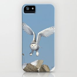 Her wings are my prayer iPhone Case