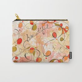 Flourish: Beautiful Carry-All Pouch