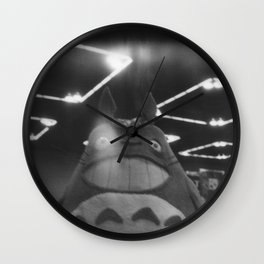 The Cosplayer Wall Clock