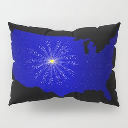 United States Celebration Pillow Sham