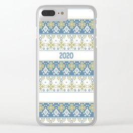 New year , 2020 , Christmas , Christmas ornament Clear iPhone Case