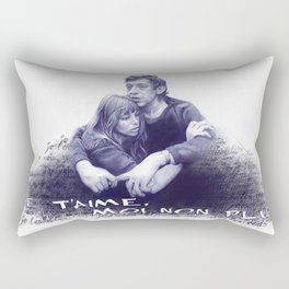 Je t'aime - Jane Birkin & Serge Gainsbourg Rectangular Pillow