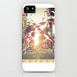 Santa Monica Blvd. iPhone Case