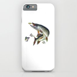 Musky Fishing iPhone Case