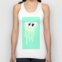 lime Tank Tops featuring lime by Y.COH