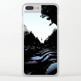 Prenzlauer Berg Clear iPhone Case