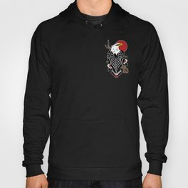 Perched Eagle Hoody