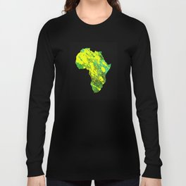 Tanzania - Art In Support Of Kids 4 School Long Sleeve T-shirt