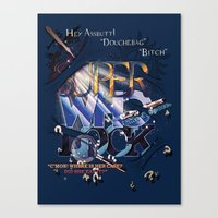 superwholock Canvas Prints featuring Superwholock by RooDesign