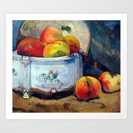 Paul Gauguin Still Life with Peaches Art Print