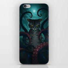 Catthulhu iPhone & iPod Skin