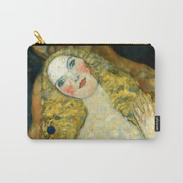 """Gustav Klimt """"Adam and Eve"""" Carry-All Pouch"""
