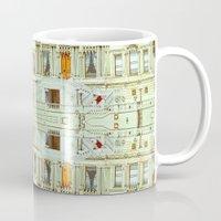 istanbul Mugs featuring Istanbul by monasita