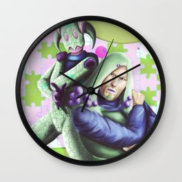 Jojolion - King Nothing & Norisuke Higashikata Wall Clock