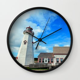 East Point PEI Lighthouse Wall Clock