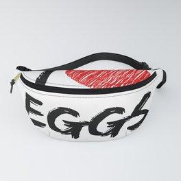 I Love Eggs Fanny Pack