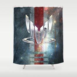 N7 Spectre Shower Curtain