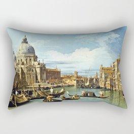 Canaletto Bernardo Bellotto - The Entrance To The Grand Canal, Venice Rectangular Pillow