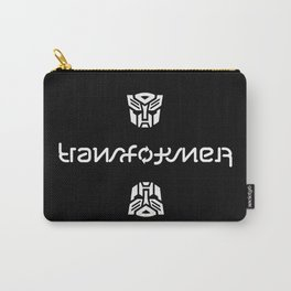 TRANSFORMER ambigram Carry-All Pouch