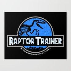 Raptor Trainer Canvas Print