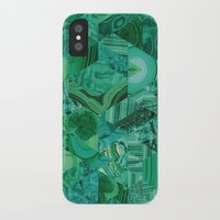 malachite iPhone & iPod Cases featuring Malachite Fusion by Kiss the Sky