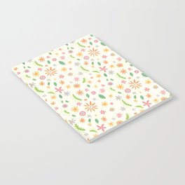 Colourful Daisies Notebook