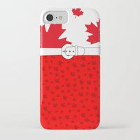 canada iPhone & iPod Cases featuring Canada by ts55