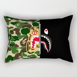 Bape Tiger Shark Rectangular Pillow