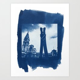 Philadelphia City Hall Art Print