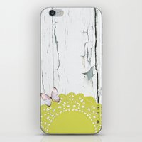 charmaine olivia iPhone & iPod Skins featuring Olivia by The ArdentSparrow