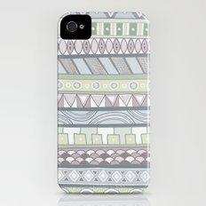 Simple Pattern Slim Case iPhone (4, 4s)