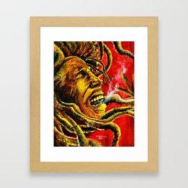 Marley Rasta Framed Art Print