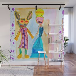 Masqueraders Wall Mural