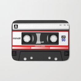 Retro audio cassete Bath Mat