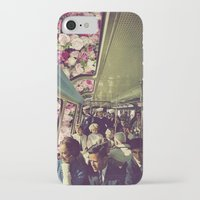 subway iPhone & iPod Cases featuring subway by Caroline A