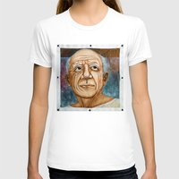 picasso T-shirts featuring Pablo Picasso by Michael Cu Fua